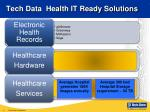 tech data health it ready solutions
