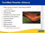 techmed reseller alliance