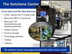 the solutions center