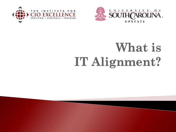 what is it alignment n.