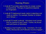 starting points1
