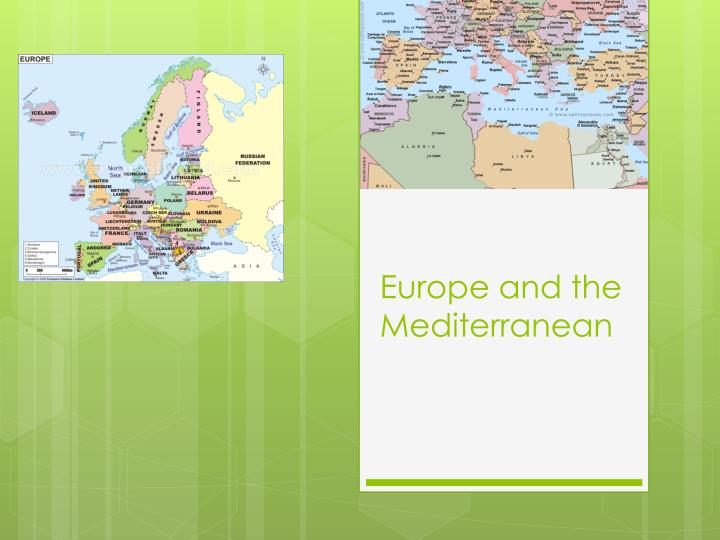 europe and the mediterranean n.