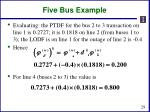 five bus example5