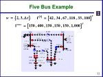 five bus example6
