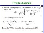 five bus example8