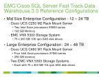 emc cisco sql server fast track data warehouse 3 0 reference configurations