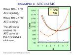 example 2 atc and mc