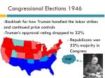 congressional elections 1946