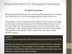 prepaid wireless 911 emergency surcharge