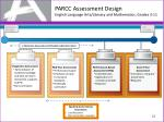 parcc assessment design english language arts literacy and mathematics grades 3 11