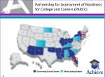 partnership for assessment of readiness for college and careers parcc