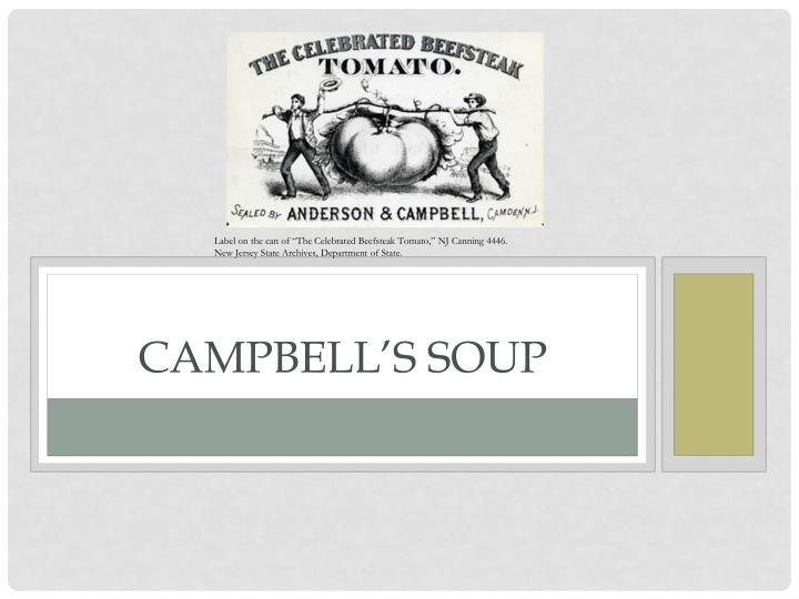 campbell s soup n.