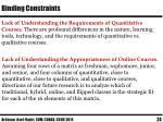 binding constraints3