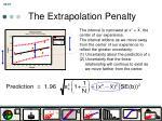the extrapolation penalty