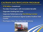caltrain electrification program