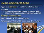 small business program