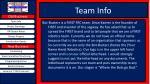 team info