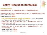entity resolution formulas1