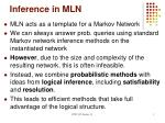 inference in mln