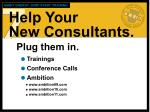 help your new consultants1