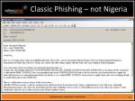 classic phishing not nigeria