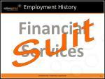 employment history1