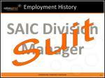 employment history10
