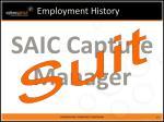 employment history12