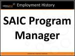 employment history7