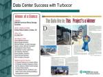data center success with turbocor