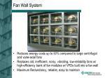 fan wall system