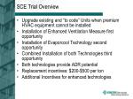 sce trial overview