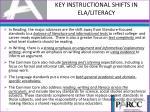 key instructional shifts in ela literacy