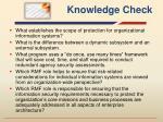 knowledge check1