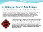 4 killington search and rescue
