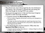 causes of wwii in europe1