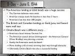 d day june 6 19441