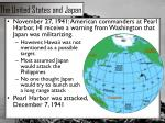 the united states and japan1