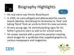 biography highlights1