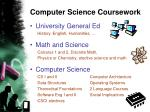 computer science coursework