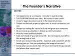 the founder s narrative3