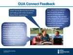 oua connect feedback