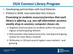 oua connect library program