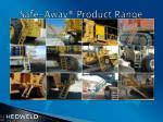 safe away product range