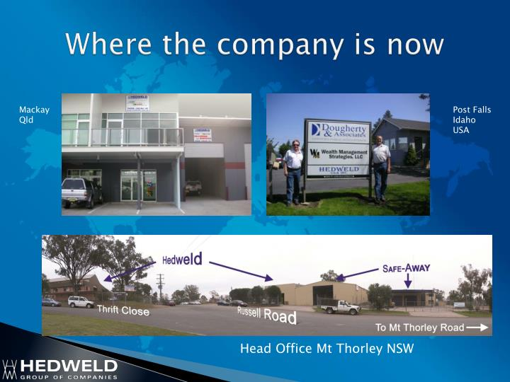 Where the company is now