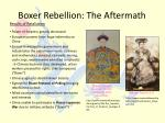 boxer rebellion the aftermath