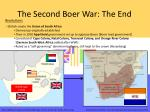 the second boer war the end