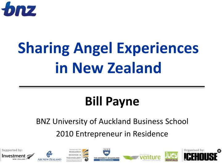 sharing angel experiences in new zealand n.