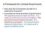 a framework for limited government2