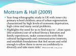 mottram hall 2009
